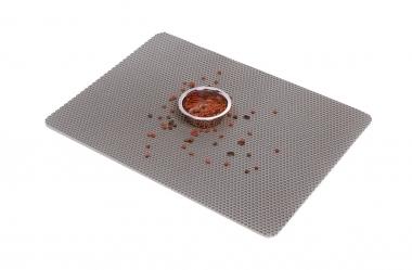 Коврики EVA для дома Коврик (Серый) под миску для собак и кошек, размер 67см х 50см